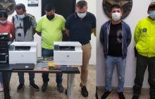 Capturan a 5 presuntos integrantes de la banda delincuencial 'los Electron'