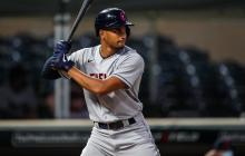 Óscar Mercado conectó su quinto jonrón de la temporada con los Indios de Cleveland