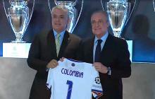 Presidente Duque se reunió con Florentino Pérez y Fundación Real Madrid