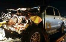 """""""En el platón de la camioneta se encontró un cuerpo"""": Fiscalía"""