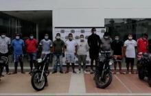 Desarticulan grupo delincuencial Los Correcaminos, en Cartagena