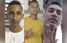 Estos son los presuntos asesinos del crimen de una niña en el barrio Las Américas en medio de un atraco