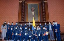 Grupo de jóvenes colombianos viajará a Polonia para intercambio deportivo