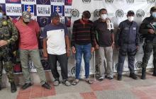 Presuntos secuestradores esperan imputación y medida de aseguramiento