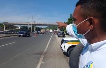 Ediles samarios reclaman seguridad en puentes peatonales