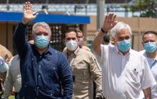 Piñera elogió la política de Paz con Legalidad de Duque