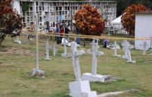 JEP entrega restos de dos personas dadas por desaparecidas en Dabeiba