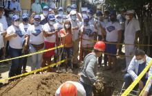 En Puerto comenzó la construcción del nuevo acueducto