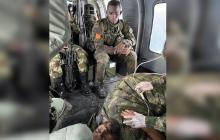 Confirman la muerte de alias Fabián tras quedar herido en bombardeo