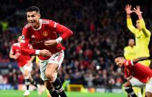 Cristiano le dio un triunfo agónico al United en Old Trafford
