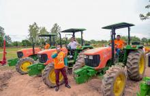 En Magdalena ponen en operación 3 Bancos de Maquinaria Verde