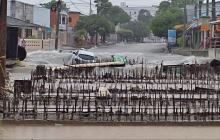 Bomberos reportan varias emergencias por lluvias en Barranquilla