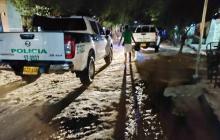 Asesinan a dos hombres a bala en La Floresta, Soledad