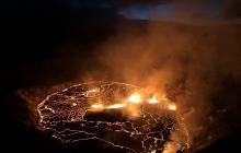 Volcán Kilauea, uno de los más activos, entró en erupción en Hawái