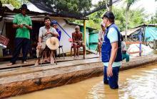 Cerca de 31 mil familias damnificadas deja la ola invernal en Sucre