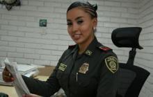 A patrullera Andrea Cortés le imputarán cargos por hurto