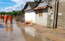 521 familias resultaron afectadas por inundaciones en Pivijay