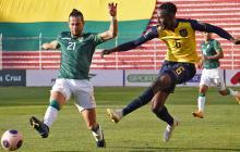 Ecuador vs. Bolivia: sin opción para el empate