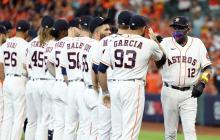 Los Astros vencieron a los Medias Blancas en el primer juego de su serie