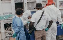 Reportan la recuperación de 73 cuerpos de presuntas víctimas en Puerto Berrío