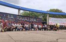 Docentes de La Guajira respaldan a jóvenes en huelga de hambre