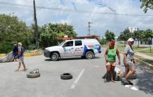 Bloquean Corredor Portuario: comunidad lleva 6 días sin energía eléctrica