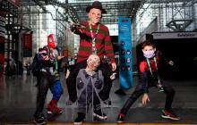 'Cosplayers' hacen gala de su ingenio nuevamente
