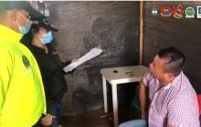 Capturan en Arauca a presuntos integrantes de la red de apoyo al terrorismo del Eln