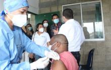 Minsalud inició fase intensiva de vacunación en Montería