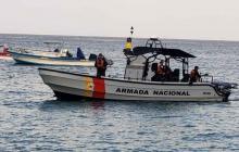 Continúa búsqueda de seis migrantes del barco que naufragó de Colombia a Panamá