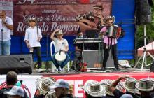 Los acordeoneros más pequeños sacan sus primeras notas en el Festival Vallenato