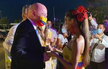 Presidente de la Fifa ya está en Barranquilla