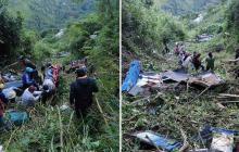 Cuatro muertos y 18 heridos en accidente en Chaparral, Tolima