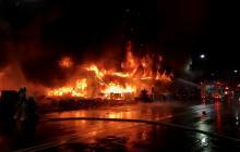 Al menos 46 muertos deja incendio de un edificio en Taiwán