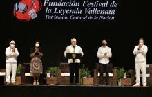Iván Duque destaca al Festival Vallenato como símbolo de reactivación económica