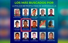 Cayó alias Tripita, uno de los más buscados en Barranquilla