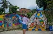 Usiacurí, un pesebre que se pinta de colores para sus visitantes