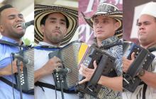 Los cinco acordeoneros profesionales que van a la final