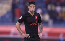 James Rodríguez debutó con derrota en el fútbol de Catar