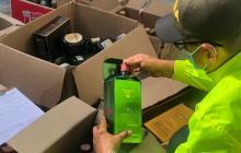 Incautan 700 botellas de whisky adulterado en Valledupar