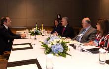 Estamos afianzando la relación bilateral con Brasil: Duque