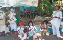 Indígenas wiwa reclamaron cédulas represadas en Riohacha