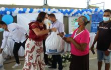 Damnificados en Santo Tomás y Soledad reciben donaciones