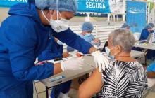 Santa Marta pasó de 28 a 78 puntos de vacunación contra la covid-19