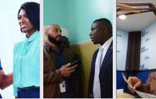 El Bahameño que juega entre el periodismo y el empresarismo