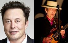 Elon Musk y Bob Dylan
