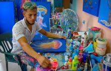 Las obras del artista barranquillero que buscan cuidar el medio ambiente