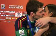 Los besos más comentados en la historia del fútbol