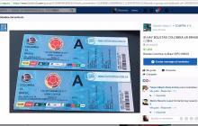 En imágenes   El excesivo cobro por internet de las boletas para Colombia-Brasil