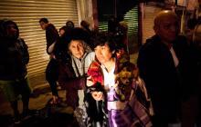 Estas son las primeras imágenes que deja el terremoto en México